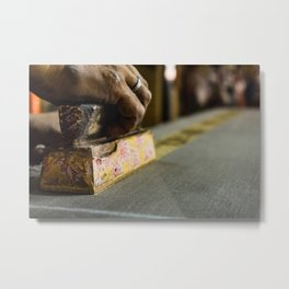 The Golden Yard Metal Print