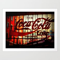 Trink Coca~Cola Art Print