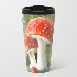 Fairy Mushroom Family Travel Mug