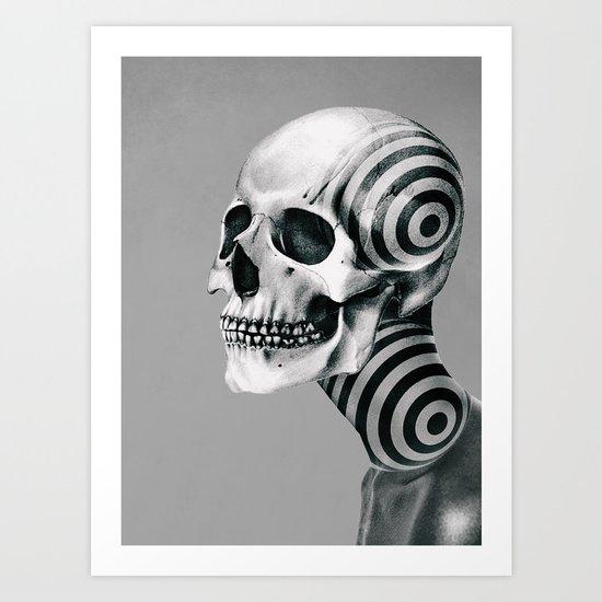 SKULL (Portrait) Art Print