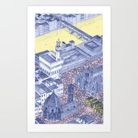 florence Art Prints featuring Florence by Dylan Davis