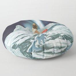 Polar Lights Floor Pillow