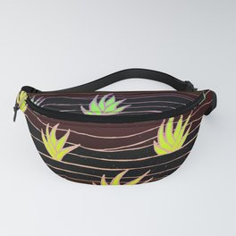 Neon Agave Fanny Pack
