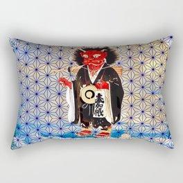 Japanese Bad Hair Day II Rectangular Pillow