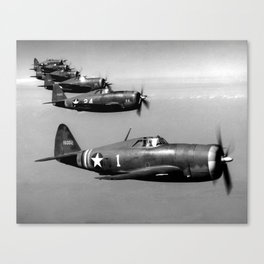 P-47 Thunderbolt Canvas Print