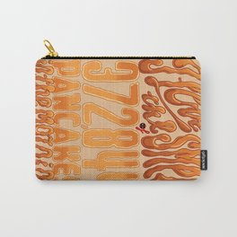 I Love The Smell Carry-All Pouch