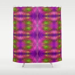 Electric Purle Shower Curtain