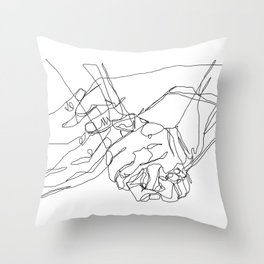 Caress & Crush Throw Pillow