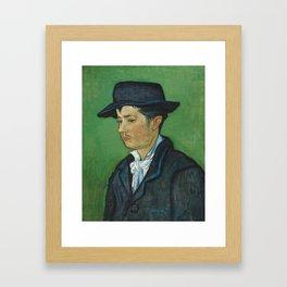 Portrait of Armand Roulin by Vincent van Gogh Framed Art Print