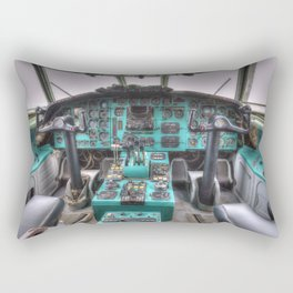 Tupolev TU-154 Jet Cockpit Rectangular Pillow