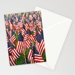 Field Of Flags Stationery Cards