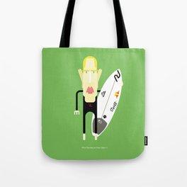 Mick Fanning caricature Tote Bag