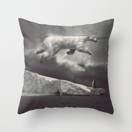 fernweh Throw Pillow