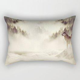The Call Of The Wild Rectangular Pillow