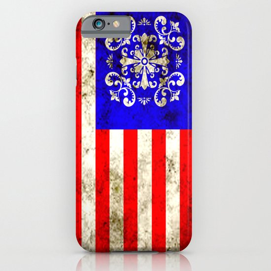 An American flag iPhone & iPod Case