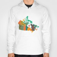 canada Hoodies featuring Canada by Mohit Gupta