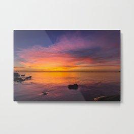 Coastal Colors Metal Print