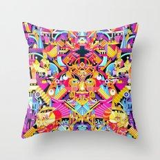 color Throw Pillow