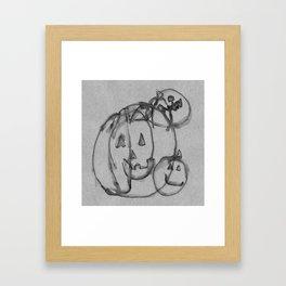 Punkin' Framed Art Print