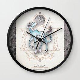 Mooncalf Wall Clock