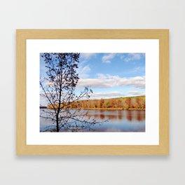 Minnesota Fall on the River Framed Art Print