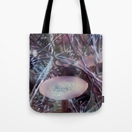 Lilac Dermocybe Mushrooms Tote Bag
