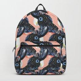 Black Cockatoos Backpack
