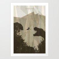 tomb raider Art Prints featuring Tomb Raider by s2lart