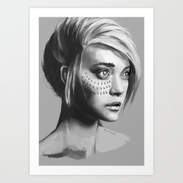 Tribe Mother Art Print