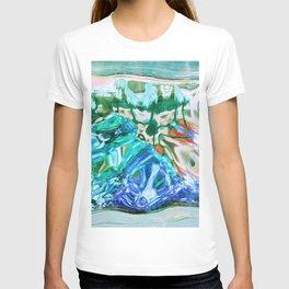 427 - Abstract glass design T-shirt