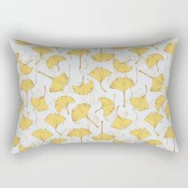 Ginkgo Pattern Rectangular Pillow