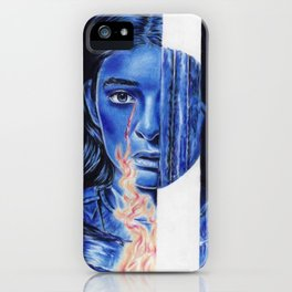 writer in the dark iPhone Case