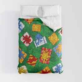 Christmas gifts pattern Comforters