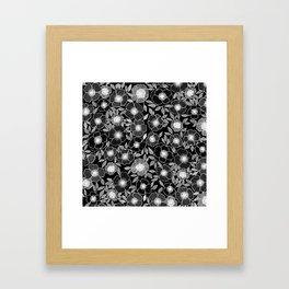 Poppy Black Framed Art Print