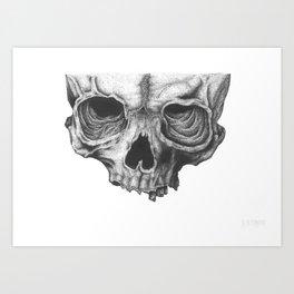 Skull 101 Art Print