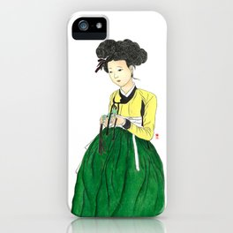 Mi-in-do 1700s_Solnekim iPhone Case