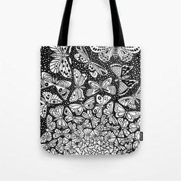 Escher - Butterflies Tessellation Tote Bag