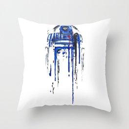 A blue hope 2 Throw Pillow