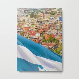 Santa Ana Hill, Guayaquil Ecuador Metal Print