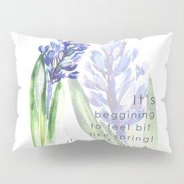 Hyacinth flowers Pillow Sham