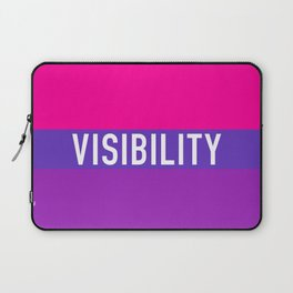 Bisexual Visibility Laptop Sleeve