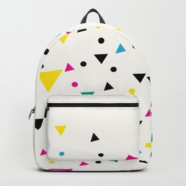 Oakland 1993 - Memphis Throwback Bright Retro 1990s 80s Trendy Hipster Pattern Eighties Backpack