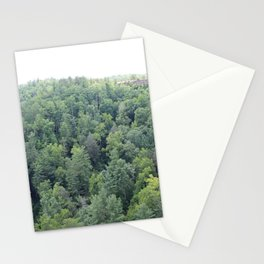Trees at Natural Bridge State Park Stationery Cards