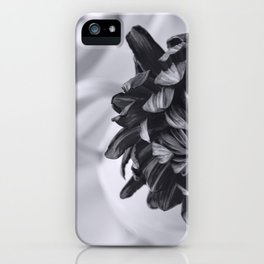 Whispered Beauty - Black and White Art iPhone Case