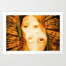 A Saint with Vision - Beauty, like supreme dominion Is but supported by opinion Art Print