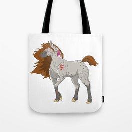 Native American Horse Tote Bag