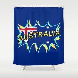 Australia Shower Curtain
