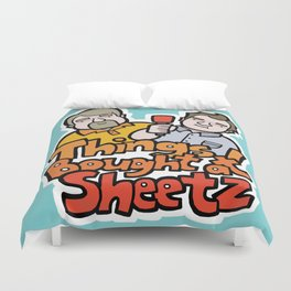 Things I Bought At Sheetz: Official Fan Merchandise Duvet Cover