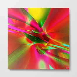 """In every color there is some light"" Metal Print"