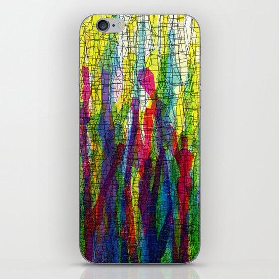 stripes traffic 2 iPhone & iPod Skin